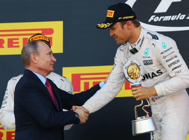 Nico Rosberg, Wladimir Putin