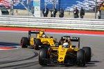 Kevin Magnussen (Renault) und Jolyon Palmer (Renault)