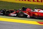 Carlos Sainz (Toro Rosso) und Kimi Räikkönen (Ferrari)