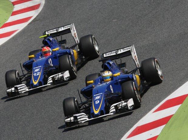 Marcus Ericsson, Felipe Nasr
