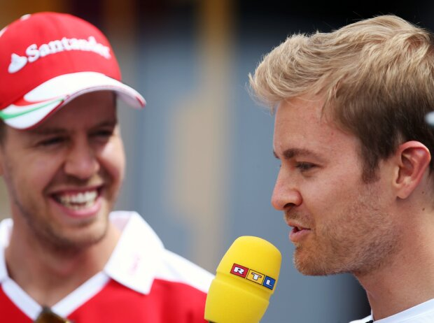 Sebastian Vettel, Nico Rosberg
