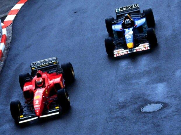 Eddie Irvine, Heinz-Harald Frentzen