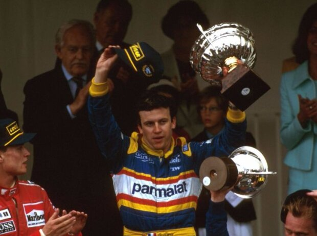 Olivier Panis, David Coulthard, Johnny Herbert