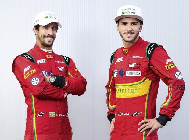 Lucas di Grassi und Daniel Abt