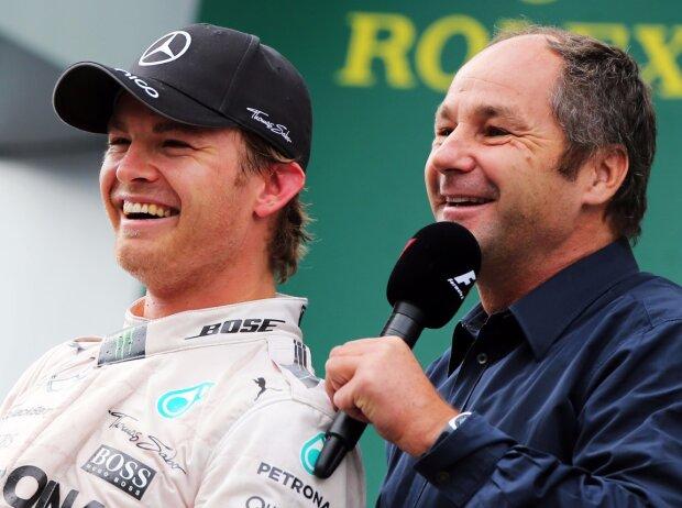 Nico Rosberg, Gerhard Berger