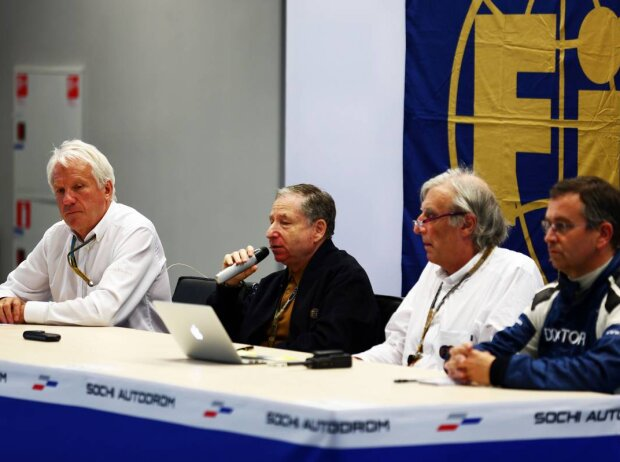 Jules Bianchi, Charlie Whiting, Jean Todt