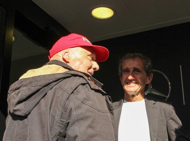 Niki Lauda, Alain Prost