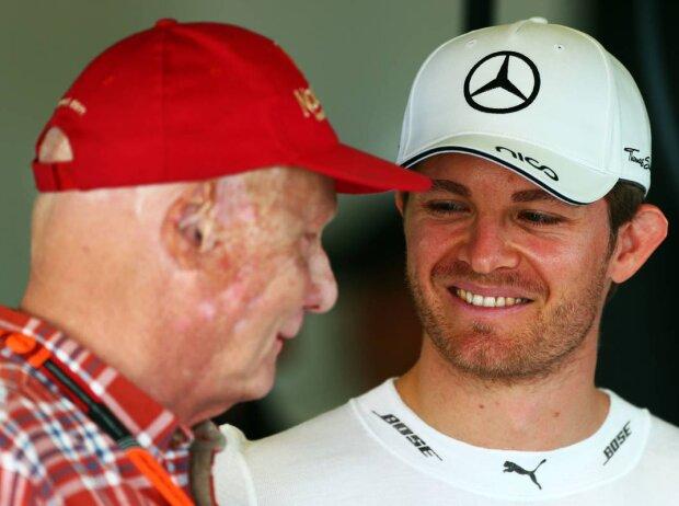 Niki Lauda, Nico Rosberg