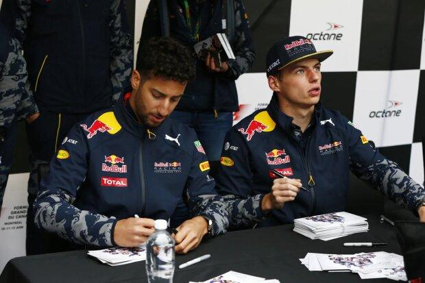 Daniel Ricciardo Max Verstappen  ~Daniel Ricciardo (Red Bull) und Max Verstappen (Red Bull) ~