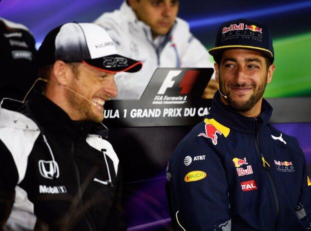 Jenson Button, Daniel Ricciardo