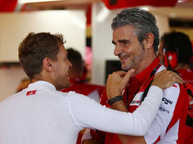 Sebastian Vettel, Maurizio Arrivabene