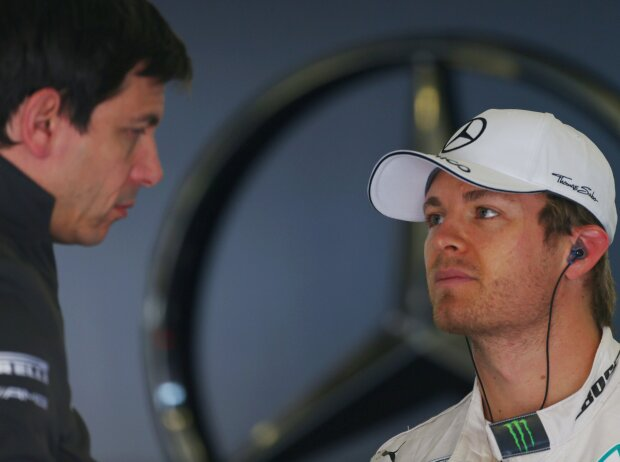 Toto Wolff, Nico Rosberg