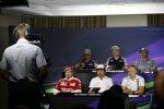 Kameramann bei der FIA-Pressekonferenz