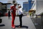 Bernie Ecclestone und Maurizio Arrivabene