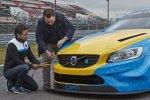 Volvo-Art-Car für das Goodwood Festival of Speed