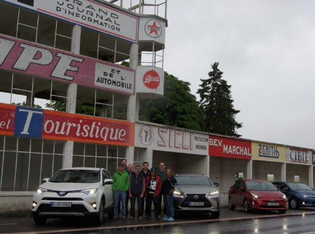 Die Teilnehmer von Toyotas