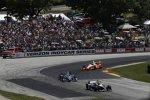 Alexander Rossi (Andretti), Max Chilton und Juan Pablo Montoya (Penske)