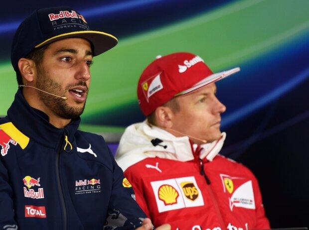 Daniel Ricciardo, Kimi Räikkönen