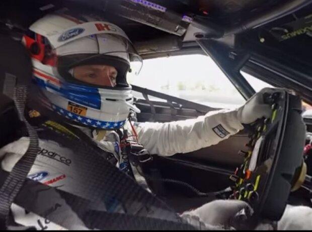 Joey Hand im 360-Grad-Video in Le Mans 2016 mit seinem Ford GT