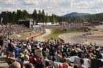 Rallycross-Fans in Höljes