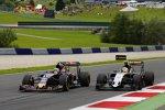 Carlos Sainz (Toro Rosso) und Sergio Perez (Force India)