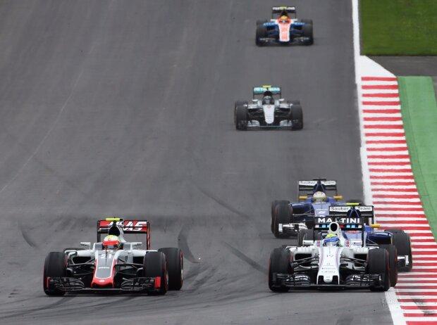 Esteban Gutierrez, Felipe Massa