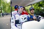 Jean-Eric Vergne, Nicolas Prost und Bruno Senna