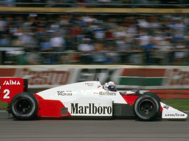 Alain prost Silverstone 1985