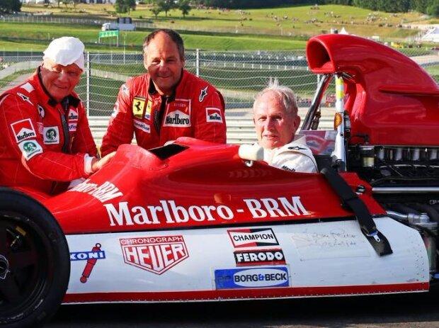 Gerhard Berger, Helmut Marko, Niki Lauda
