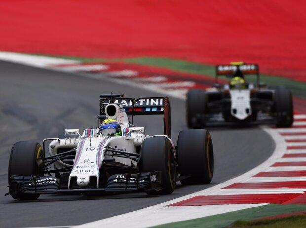 Felipe Massa, Sergio Perez