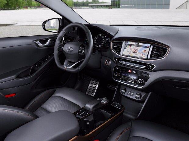 Cockpit des Hyundai Ioniq Electric