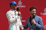 Lewis Hamilton (Mercedes) und Mark Webber