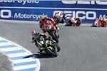 Jonathan Rea (Kawasaki) und Chaz Davies (Ducati)