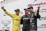 Will Power (Penske) und James Hinchcliffe (Schmidt)