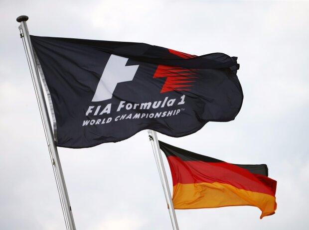FIA / Deutschland Fahne