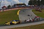 Marco Andretti (Andretti) und Juan Pablo Montoya (Penske)