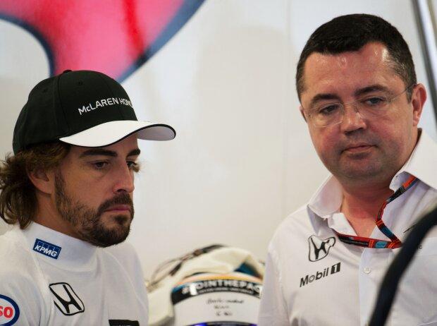 Fernando Alonso, Eric Boullier