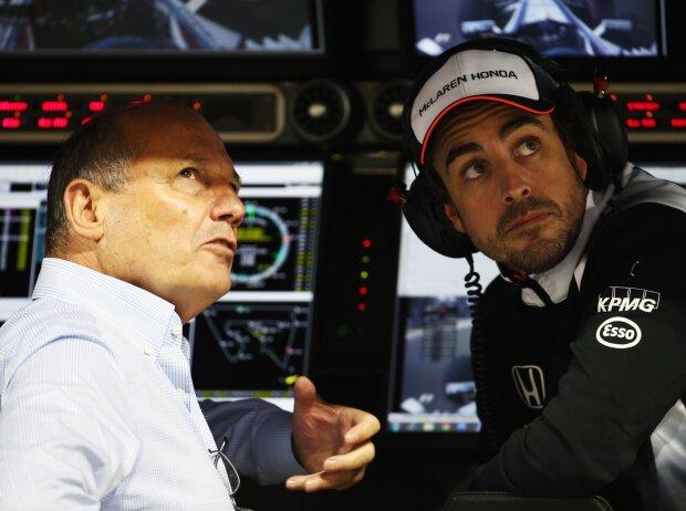 Ron Dennis, Fernando Alonso