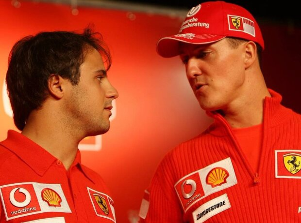 Michael Schumacher, Felipe Massa