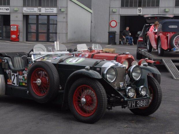 44. AvD Oldtimer Grand-Prix: Preziosen im alten Fahrerlager des Nürburgrings