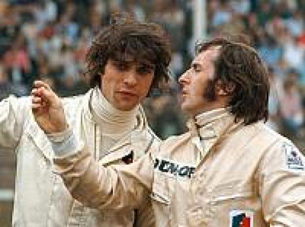 François Cevert und Jackie Stewart