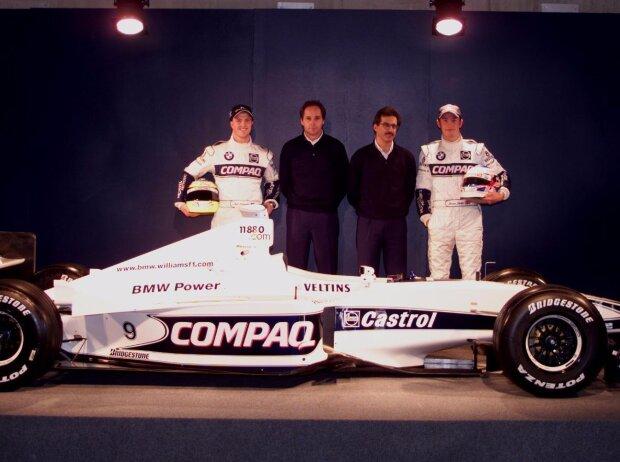 Ralf Schumacher, Gerhard Berger, Jenson Button
