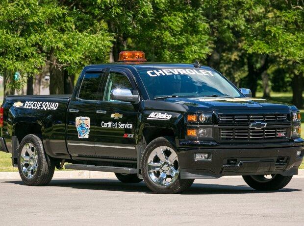Chevrolet Silverado als Servicewagen für Woodward Dream Cruise