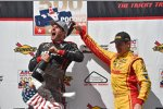 Will Power (Penske) und Ryan Hunter-Reay (Andretti)