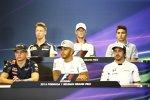 Donnerstags-Fahrer-PK der FIA