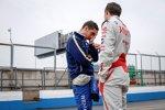 Sebastien Buemi (Renault e.dams) und Loic Duval (Dragon)