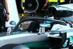 Mercedes F1 W07 mit Halo