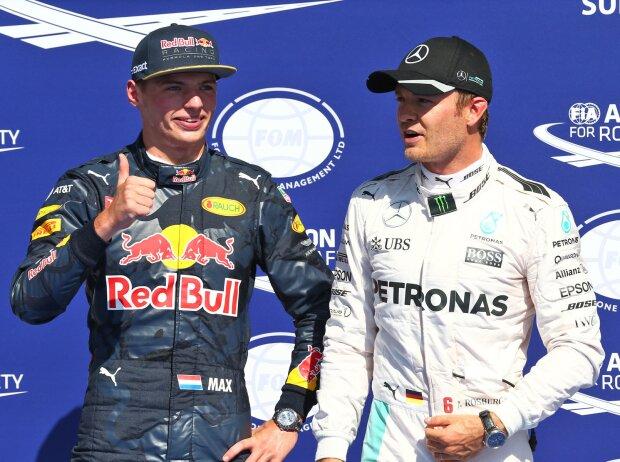 Max Verstappen, Nico Rosberg