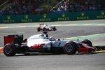 Romain Grosjean (Haas) und Esteban Gutierrez (Haas)
