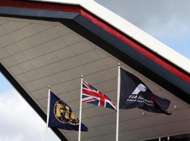 Flaggen, FIA, Formel 1, Union Jack